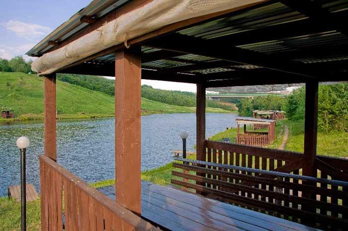 Платный пруд в Ромашково