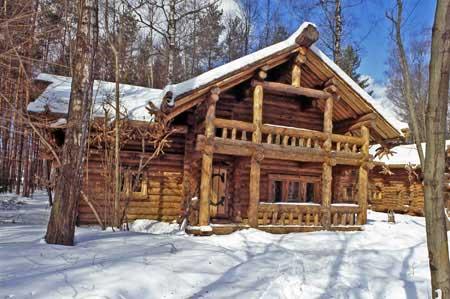 Домики Таежные дачи в Звенигороде