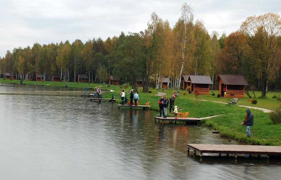 Рыбалка огуднево