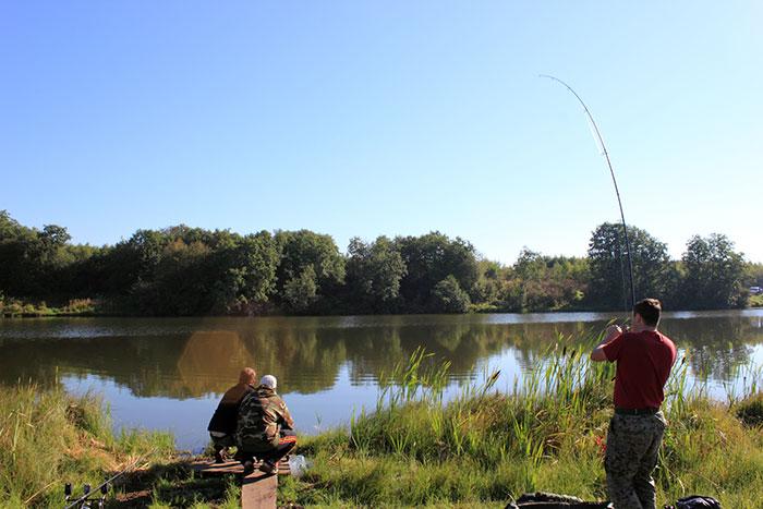 Рыбалка 9 карпов