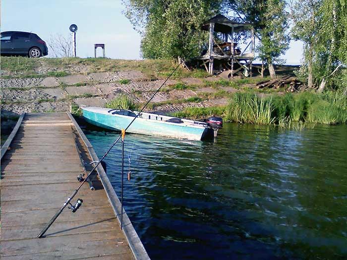 Рыбалка с лодки в Егорьевском районе