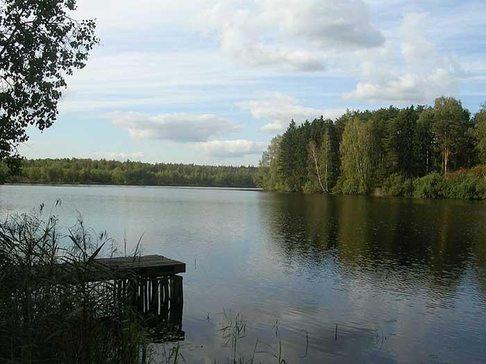 Рыбалка на Луковом озере