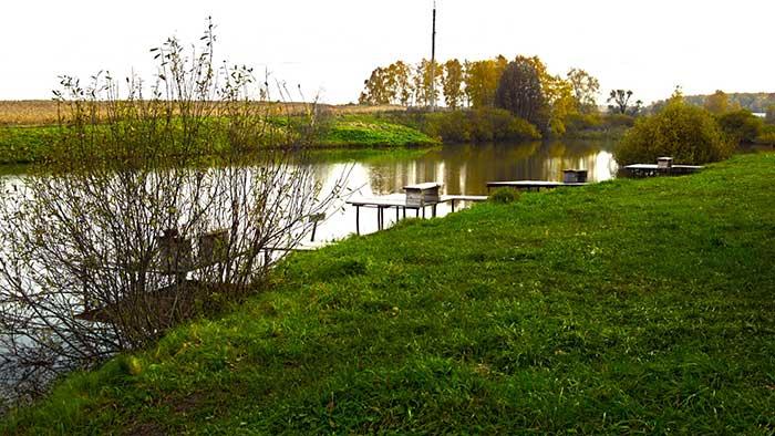 Рыбалка в Растуново