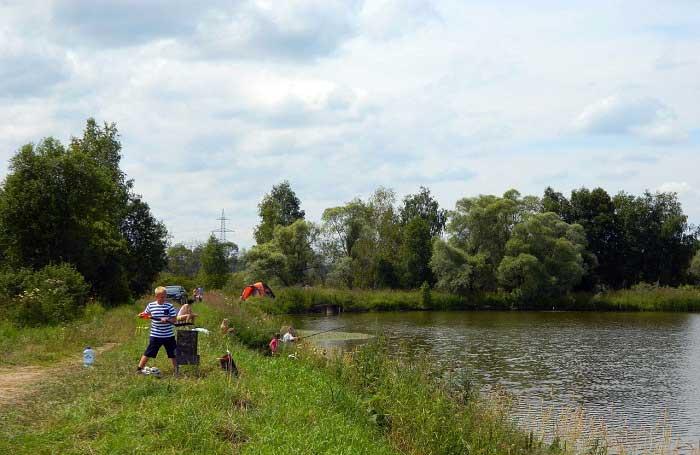Рыбалка в Таболово