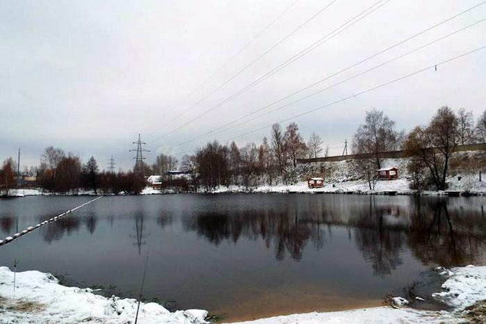Рыбалка в Еганово зимой