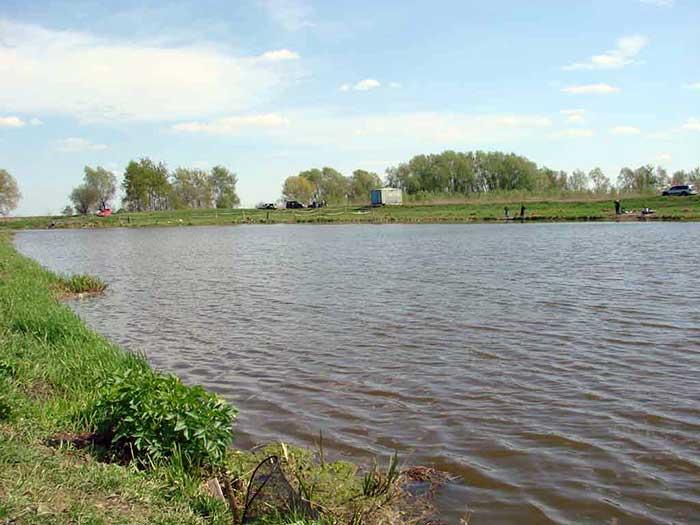 Рыбалка на озере Игумново