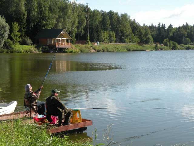 Кубинка Фишинг Парк» - рыбалка с проживанием в одинцовском районе