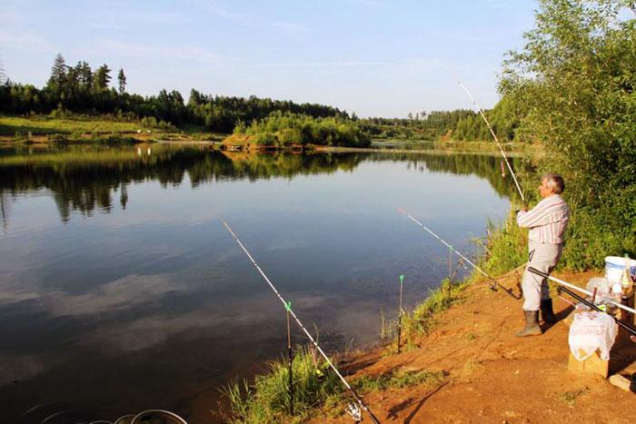 Места для рыбалки в РК Раскаты