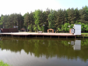 Рыбалка в Лесном городке в клубе Москва