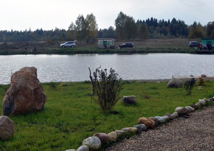 Платный пруд ФишКампинг в Рождествено