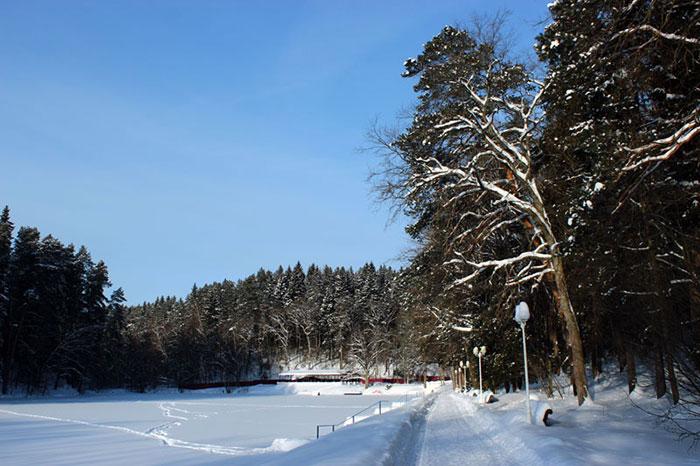 Зимняя рыбалка в Рождествено