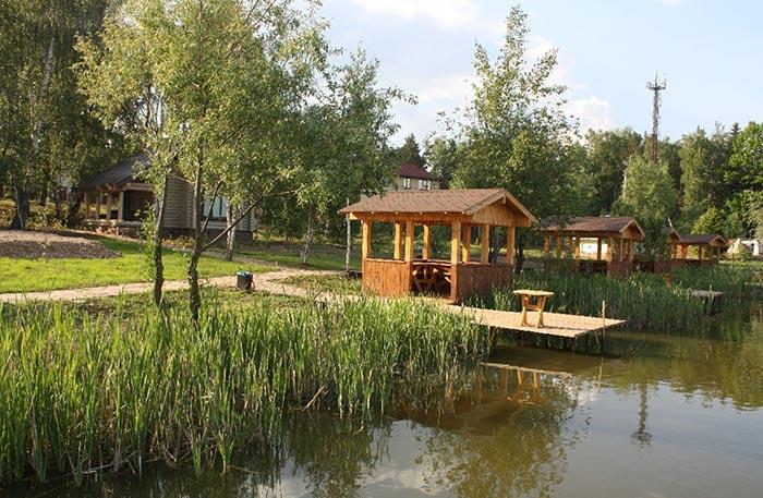 Рыбацкая деревня Юрлово