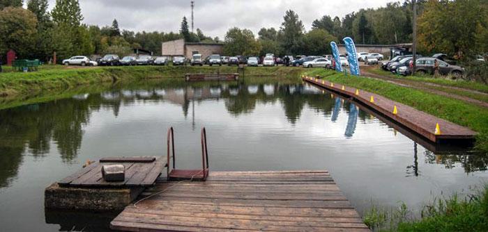 Соревнования по рыбной ловле на Сенеж
