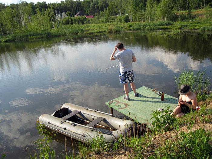 рыбное хозяйство Вашутино в Химках