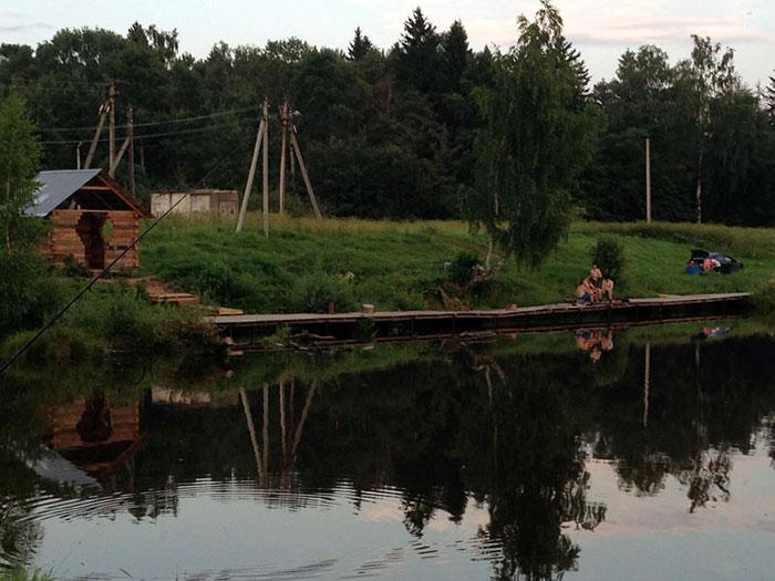 Рыбалка в Белавино
