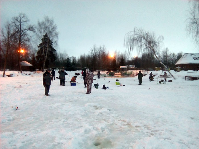 Рыболовный клуб Фишка в д. Липки