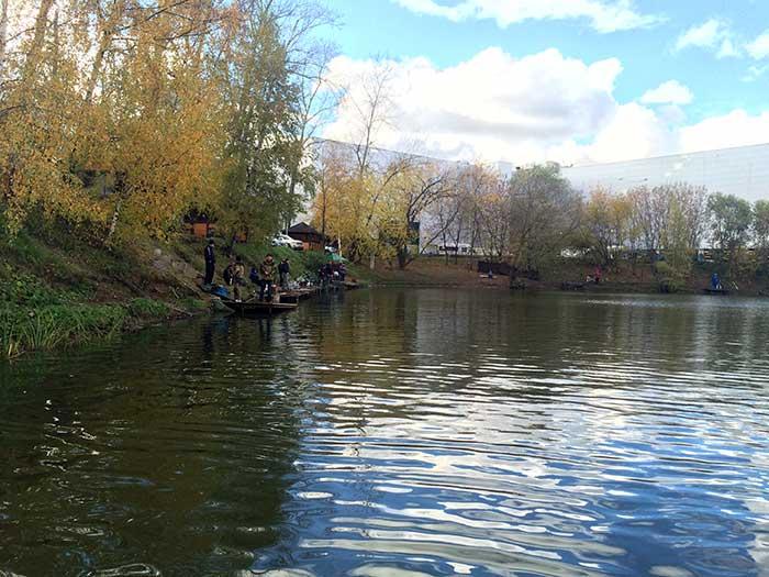 Рыбалка на Белой даче