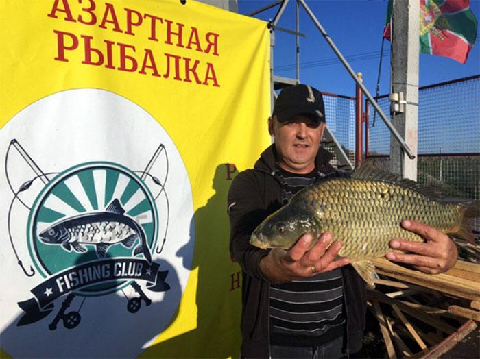 Азартная рыбалка» - рыбалка в Бабеево Ступинского района