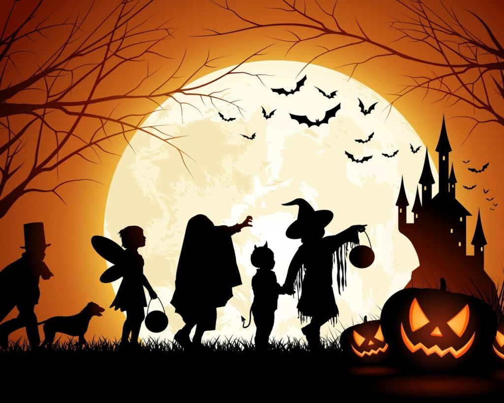 Уик-энд в стиле Halloween