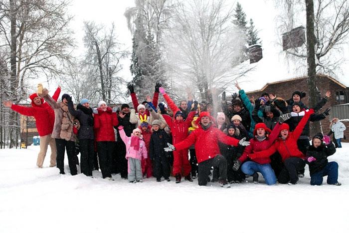 Скидка 15% на новогодние туры в отеле «Орловский»