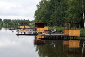 Рыбалка в охотхозяйстве «Озерное»