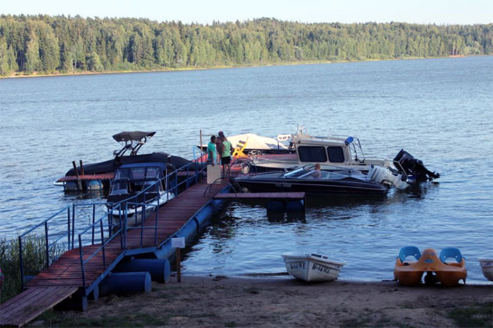 «Парус» на Озернинском водохранилище
