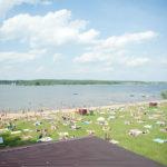 Пляж Super Beach на Клязьминском водохранилище