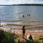 Пляж «Малые Бережки» на Истринском водохранилище