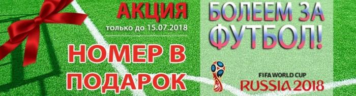Акция в комплексе отдыха «Бекасово» к ЧМ-2018 по футболу